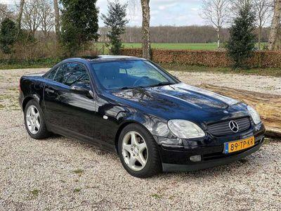 tweedehands Mercedes SLK230 Kompresor Zwart Cabrio