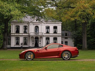 tweedehands Ferrari 599 GTB Fiorano | Special! | Rosso Monza | Carbon interior | Etc!