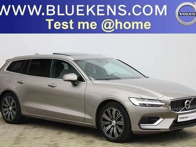 tweedehands Volvo V60  T8 AWD Inscription - Harman Kardon - Intellisafe Surround - Intellisafe Assist - Schuifdak - 360° Camera - Verwarmbare Voorstoelen - Getitn Glas - DAB - Parkeersensoren v/a - Smartphone Integratie - 18'' LMV