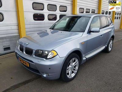 tweedehands BMW X3 3.0i High Executive 231pk LEER 4X4 AUT. Bj:2005