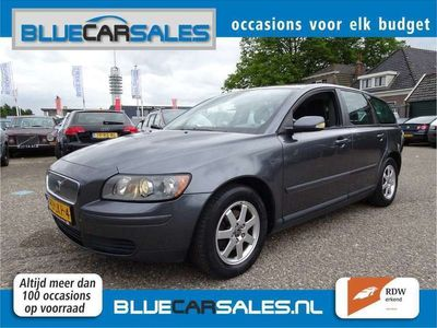 tweedehands Volvo V50 1.8 AIRCO, CRUISE CONTROLE, TREKHAAK, YOUNGTIMER