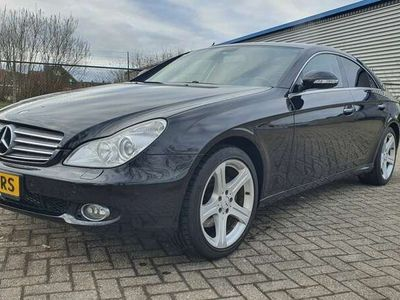 tweedehands Mercedes CLS500 km stand aantoonbaar, heel netjes boekjes aanwezig