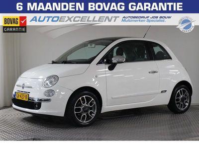 tweedehands Fiat 500 1.2 Lounge Panorama, Navigatie, LMV, CV, Airco, Nieuwst !!