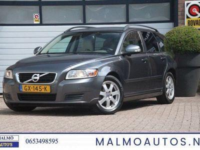 tweedehands Volvo V50 1.6D S/S Summum + NAVI + AIRCO + BLIS dodehoek lamp