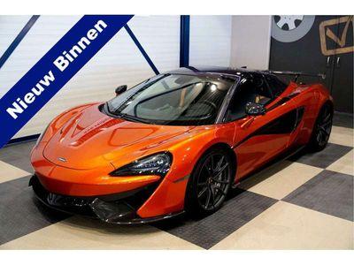 tweedehands McLaren 570S Spider Luxury MSO Fabrieksgarantie! Full Carbon, Full Options! MSO High Downforce Kit! Nieuwprijs € 375.610,-!!