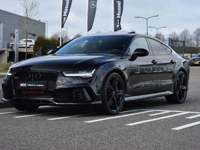 tweedehands Audi A7 Sportback RS7 4.0 TFSI quattro Pro Line Plus | Carbon | Schuif/kantel-dak | Panter Zwart metallic
