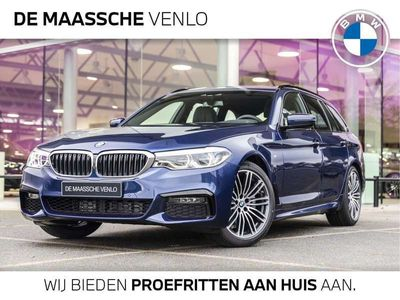 tweedehands BMW 520 5 Serie i Touring High Executive M Sport Automaat / Trekhaak / Panoramadak / Comfort Acces / 19''LM