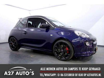 tweedehands Opel Adam 1.4 Turbo Rocks S Leer, Clima, Navi