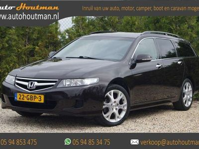 tweedehands Honda Accord Tourer 2.0i Executive CRUISE - ECC - LEDER - LMV -