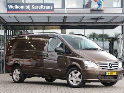 tweedehands Mercedes Vito 122 3.0 CDI V6 | Lang | Xenon | X-clusive | Stoelverw. | Cruise | Standkachel |