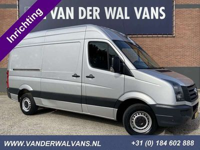 tweedehands VW Crafter 2.0TDI 136pk L2H2 Airco, cruisecontrol, inrichting