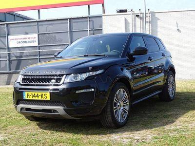 tweedehands Land Rover Range Rover evoque 2.2 TD4 4WD Prestige - Automaat, Leder, Navigatie, Camera, F1-Flippers, Airco/ECC, CruiseControl, Parkeersensoren