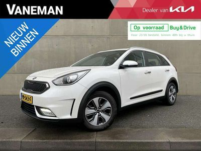 tweedehands Kia Niro 1.6 GDi Hybrid First Edition Automaat | Camera | Navi | H-Leder | Clima | PDC | Cruise | LED |