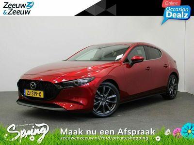 tweedehands Mazda 3 2.0 - 125PK SkyActiv-G Luxury | I-Activsense pakket | Lichtmetalen velgen | Climate Control | Fabrieksgarantie t/m juni 2022 |
