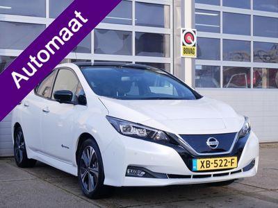tweedehands Nissan Leaf Tekna 40 kWh Bose, Leder, Marge, Zero Emission, Fabrieks Garantie Tot 21-11-2021!!