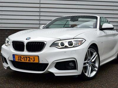 tweedehands BMW 220 220 Cabrio i M-Sport High Executive RIJKLAAR PRIJS-