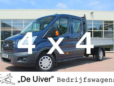 tweedehands Ford Transit 350 2.2 TDCI L4H1 Trend DC AWD 4X4 Pick Up / Open