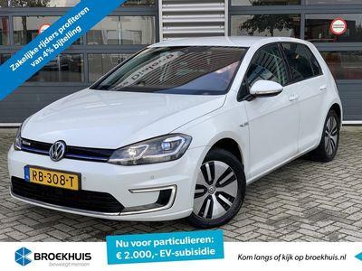 tweedehands VW e-Golf 136pk (4% bijtelling / € 2.000,- SUBSIDIE!)