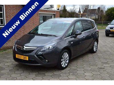 tweedehands Opel Zafira Tourer 1.4 Cosmo 7p. 1e eigenaar airco leer