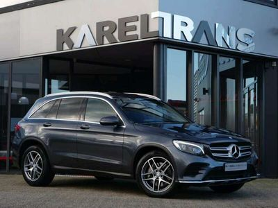 tweedehands Mercedes GLC250 GLC4matic | AMG pakket | led | Έlectric trekhaak | navi | Dealer onderhouden.