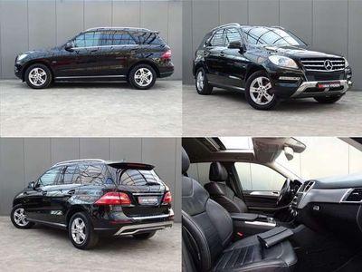 tweedehands Mercedes ML350 * LEER * OPEN DAK * LUXE UITV. !!
