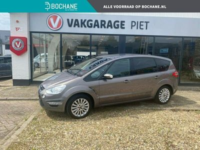 tweedehands Ford S-MAX 1.6 EcoBoost 160 pk Platinum NAVI   PDC   AIRCO