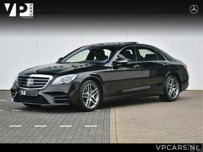 tweedehands Mercedes S560 4Matic Lang Premium Plus AMG Entertainment Panoramadak
