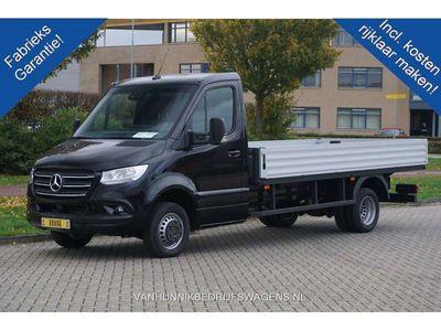 tweedehands Mercedes Sprinter 516 CDI Open laadbak 3.5T AUT €555 / Maand Airco,
