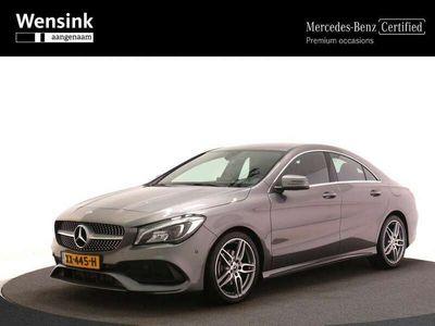 tweedehands Mercedes CLA180 Coupé AMG Sport Edition Limited | Trekhaak | Achte