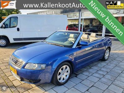 tweedehands Audi A4 Cabriolet 3.0 V6 Exclusive, Leer, Xenon, Clima, PD