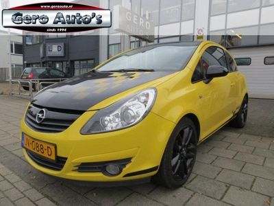 tweedehands Opel Corsa 1.4-16V Color rally Edition knalgeel