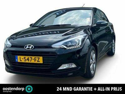 tweedehands Hyundai i20 1.2 HP i-Motion Premium | Showroom geopend ! | Navigatie | Cruise Control | 24 Mnd. Garantie | Rijklaar ! |