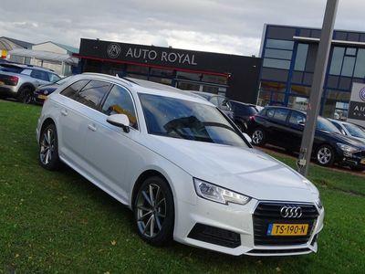 tweedehands Audi A4 Avant 2.0 TDI Business Edition - Automaat, Leder, Airco, Cruise Control, Panoramadak, 18 Inch S4 velgen, Parkeersensor voor/achter Xenon/Led verlichting, Navigatie systeem voorbereid, Rijstrooksensor, Parelmoer, Stoelverwarming