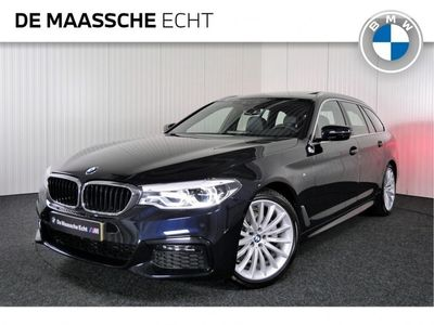 tweedehands BMW 520 5-SERIE Touring i High Executive M Sport Automaat / Leder / 19 inch / Panoramadak / Parking assistant / Head-Up / HiFi