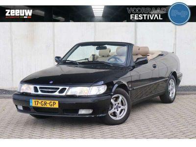 tweedehands Saab 9-3 Cabriolet 2.0 Turbo S   Leder   Stoelverwarming   Cli