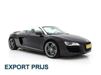 tweedehands Audi R8 Spyder 5.2 V10 FSI Quattro AUT. 525 PK *BLACK OPTI