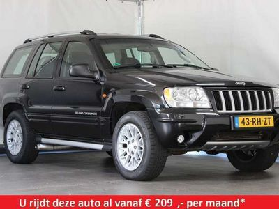 tweedehands Jeep Grand Cherokee 4.7 I V8 LIMITED AUT / BTW auto / Youngtimer