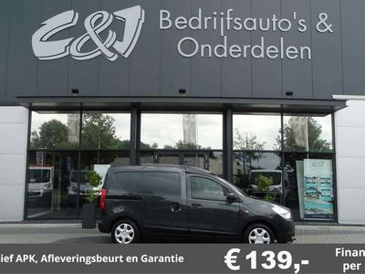 tweedehands Dacia Dokker 1.5 dCi 75 Ambiance luxe airco cruise 139,- per ma