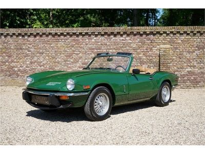 tweedehands Triumph Spitfire 1500 only 3.966 miles factory new condition!! overdriv
