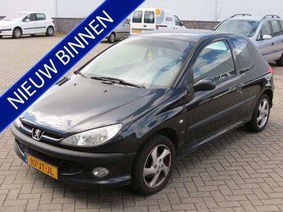 tweedehands Peugeot 206 1.6-16V XS Premium **LEDER**