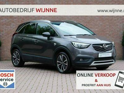 tweedehands Opel Crossland X 1.2 Turbo 110pk 6-bak 120 Jaar Edition   Navi   Full LED   Camera   Climate   PDC