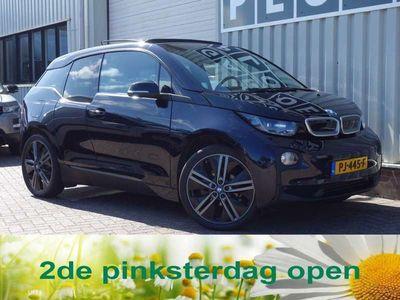 tweedehands BMW i3 High 94Ah 33 kWh Vol opties! Leer Harm.Kard Pano.dak Nav Cam Stoelverw