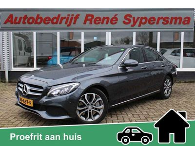 tweedehands Mercedes C350e Lease Edition Keyless/Camera/HUD/Standkachel Top