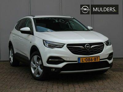 tweedehands Opel Grandland X 1.2 TURBO ULTIMATE AUTOMAAT | RIJKLAARPRIJS | Navi / Leder / LED / 18inch
