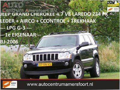 tweedehands Jeep Grand Cherokee 4.7 V8 Laredo ( LPG G-3 + INRUIL MOGELIJK )