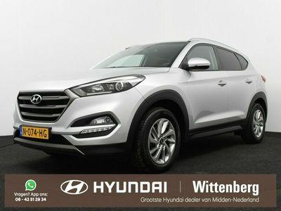 tweedehands Hyundai Tucson 1.6 T-GDi Comfort 177PK | Navigatie | Camera | 1900KG trekgewicht |