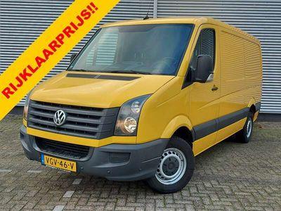 tweedehands VW Crafter 35 2.0 TDI L1H2 airco,parkeersensoren/spiegel,radio/cd speler