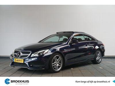 tweedehands Mercedes 350 E-Klasse CoupéBlueTEC Prestige | AMG-Pakket | Panoramadak | Sportstoelen | Leder | Zeer Netjes
