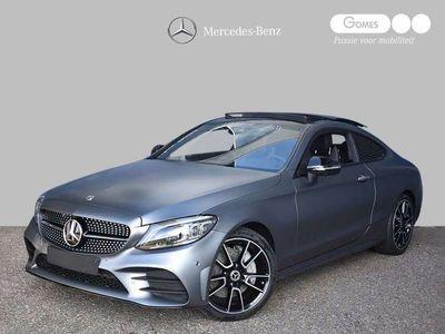 tweedehands Mercedes 300 C-Klasse CoupéSport Edition AMG | Nightpakket | Panoramadak | 360° camera | Memory Stoelen Verwarmd | Keyless-Go |