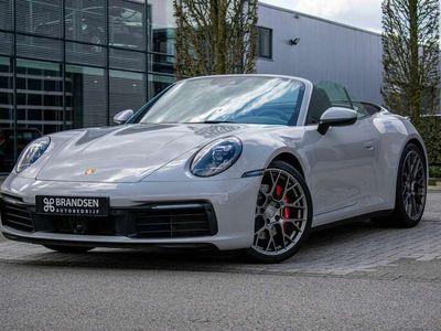"""tweedehands Porsche 911 Carrera 4S Cabriolet 992 3.0992 Sportuitaat ACC DAB 21"""" Krijtwi"""